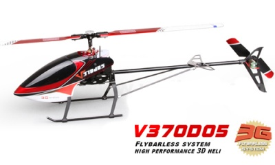 Walkera V370D05 3D 6-CH 2.4G RC Helicopter RTF with WK2603 TX