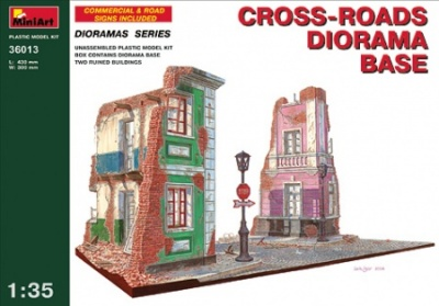 36013  CROSS-ROADS DIORAMA BASE