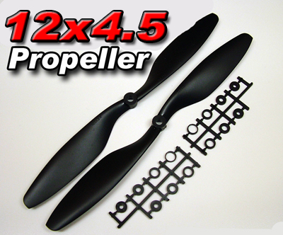 Counter Rotating Prop set 12x4.5