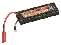 Gens ace 4000mAh 7.4V 30C 2S1P Hard Case Lipo Battery Pack