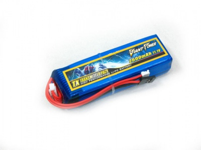 Giant Power 3S 11.1V 2600mAh 3C TX