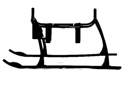 Landing Skid and battery Mount