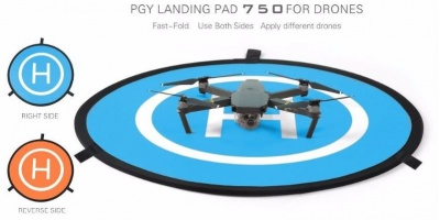 MINI LANDING PAD SUITABLE FOR DJI MAVIC AND PHANTOM 75CM