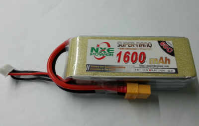NXE Power 4S 1600mAh 25C
