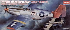 P-51C Mustang Red Tails with Ground Vehicle # 2225