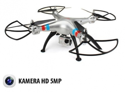 SYMA X8G 2.4Ghz 4CH 6-Axis Gyro RC Quadrocopter Drone con HD fotocamera da 5MP