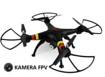 Syma X8W 2.4GHz (FPV video camera, 2.4GHz transmitter, range to 50m)