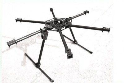 esacopter 800 ares 22mm carbonio full
