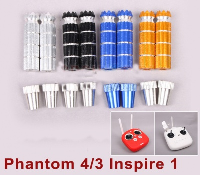 estensione stick ergal phantom dji 3 , 4 , inspire